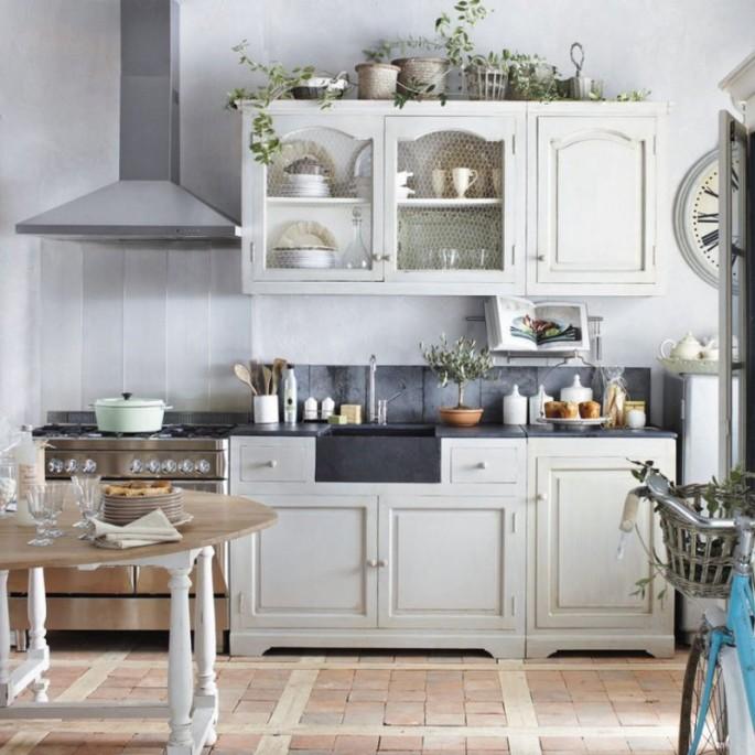 Возможно ли создать кухонный интерьер в стиле Прованс в малогабаритной квартире