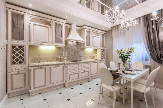 Как оформить дизайн кухни во французском стиле: советы специалистов