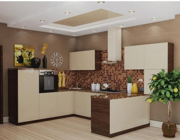 Кухни в бежево-коричневом цвете: как правильно обыграть оттенки