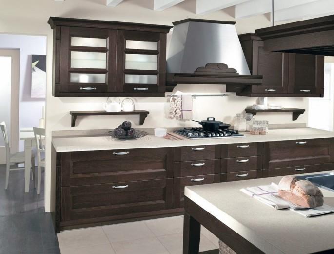 Советы по сочетанию цветов венге на кухне, подбору мебели и отделке