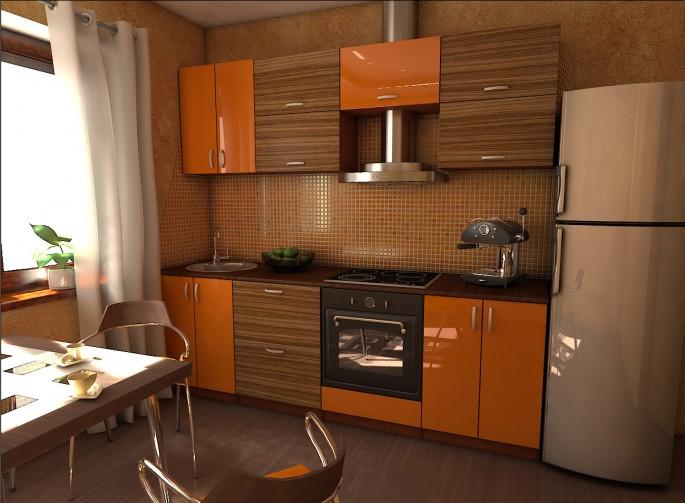 Кухня зебрано — непередаваемый африканский колорит в вашей квартире