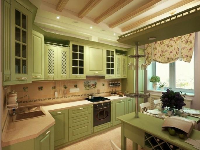 Дизайн оливковой кухни: секреты удачного сочетания цветов
