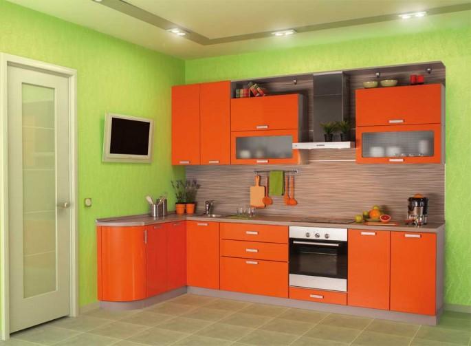 Оранжевые кухни: особенности цветовых комбинаций для энергичных интерьеров