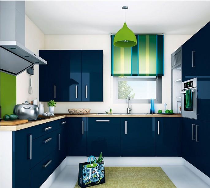 Синяя кухня: идеальный цвет интерьера для мечтательных людей