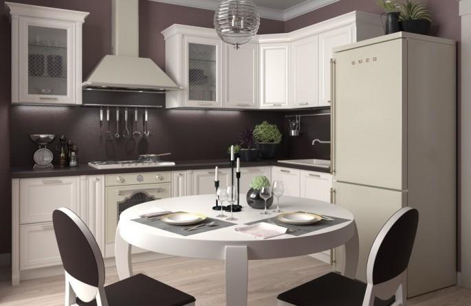 Планировка угловой кухни: стильный дизайн и прекрасная функциональность