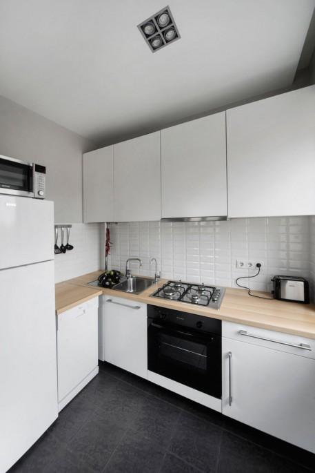 """Как самостоятельно создать уютный и функциональный интерьер кухни 5 кв. м в """"хрущевке"""""""