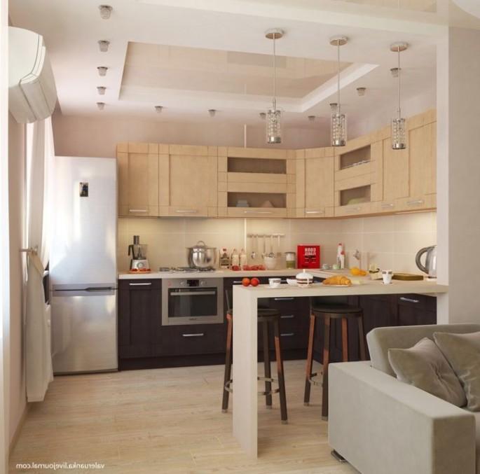 Современная кухня студия: секреты красивого оформления и комфорта
