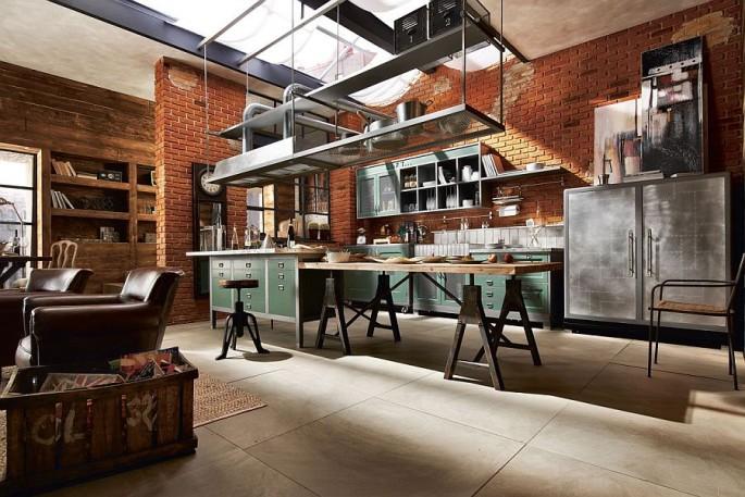 Как создать дизайн кухни в стиле лофт в обычной квартире самостоятельно