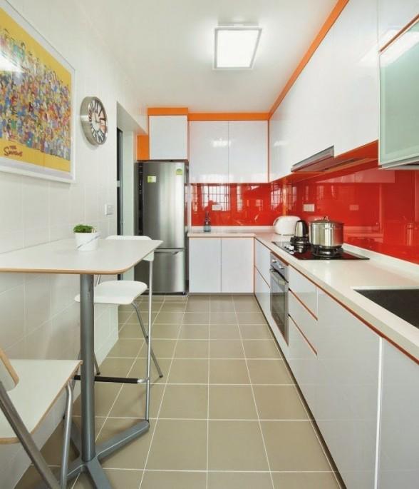 Как правильно спроектировать дизайн узкой длинной кухни самостоятельно