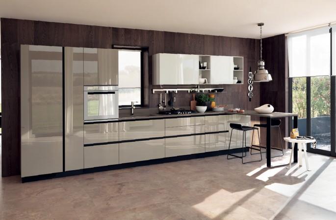 Кухня в стиле модерн (24 фото): выбор материалов и фасад гарнитура