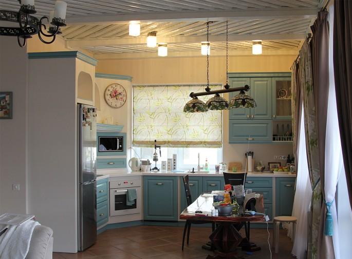 Дизайн кухни в стиле прованс (25 фото): цвета кухонь в прованском стиле