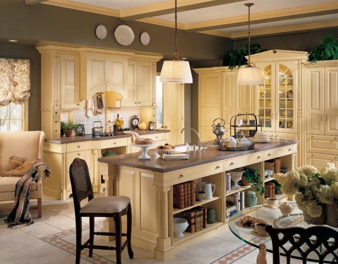 Как самостоятельно оформить кухню в американском стиле: все нюансы в одной статье