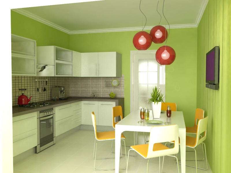 Обои на стены кухни зелёная столешница Столешница из искусственного камня Tristone Автозаводская (14 линия)