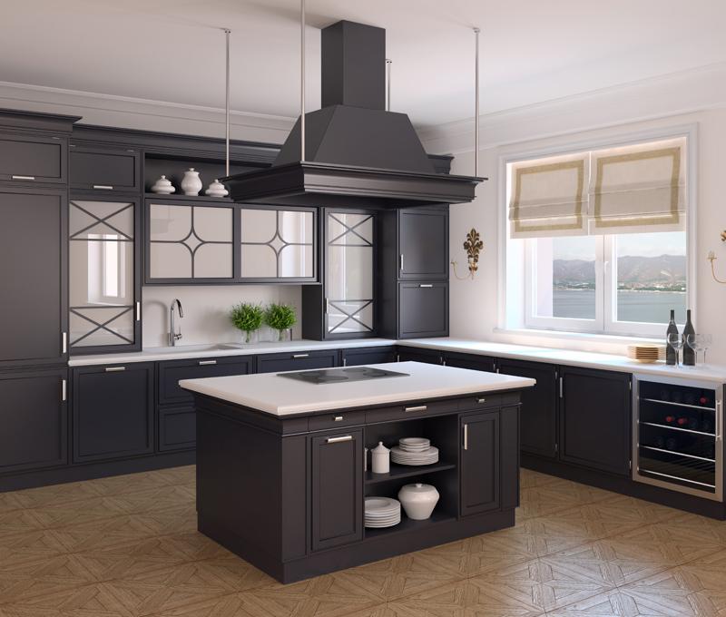 кухни дизайн фото с островом