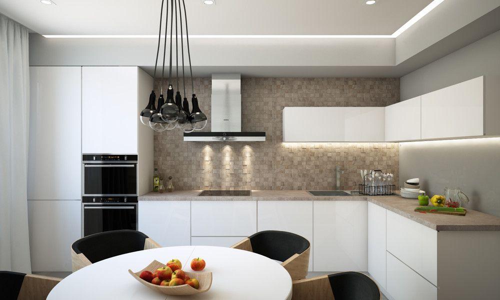 Дизайн проект кухни 13 кв м
