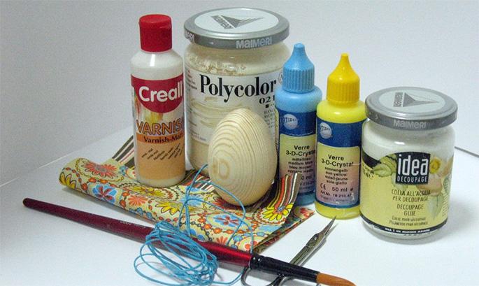 Картинки и краски для декупажа