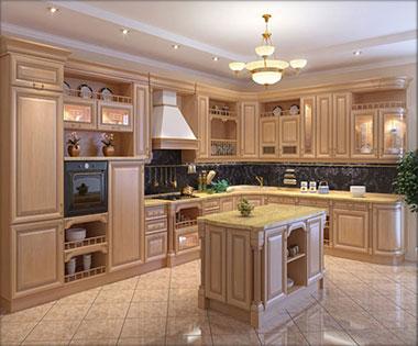 Дизайн классические кухни фото