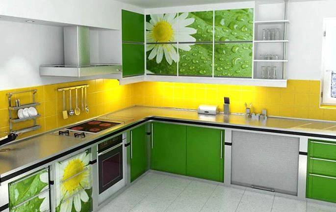 Мебель должна гармонировать с выбранными цветами и оттенками для пола, потолка и стен
