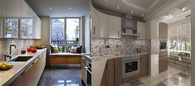 Дизайн узкой кухни: идеи, советы, хитрости - статьи - кухнип.