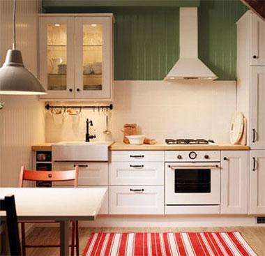 кухни Ikea варианты кухонных гарнитуров материалы видеообзор