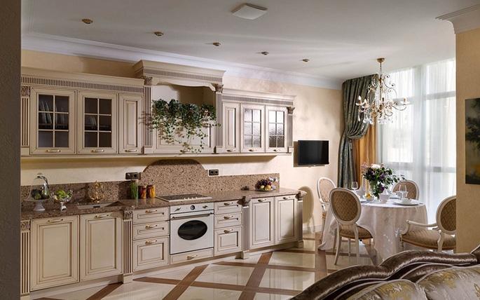 Фото кухонь в оранжевых цветах