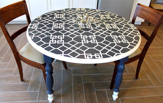 Плитка на кухонный стол своими руками 3