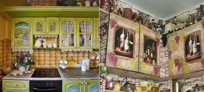 Фасады для кухни из МДФ: ремонт, покраска и реставрация