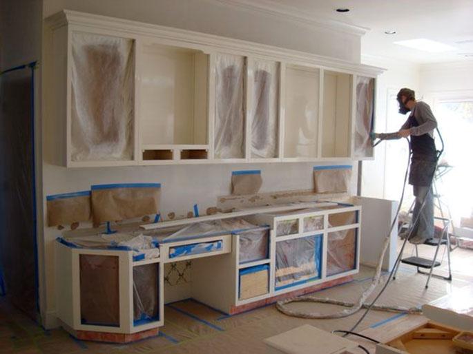 Реставрация кухонной мебели фото своими руками