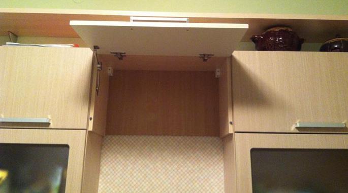 Шкаф для встроенной вытяжки своими руками 44